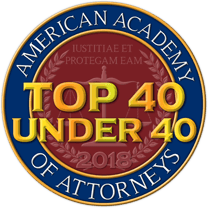 American Academy of Attorneys Top 40 Under 40 in Personal Injury